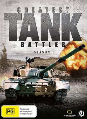 """Greatest Tank Battles"" - Australian DVD cover (thumbnail)"