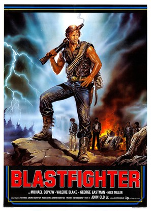 Blastfighter - Italian Movie Poster (thumbnail)