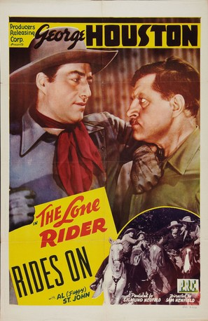 The Lone Rider Rides On - Movie Poster (thumbnail)
