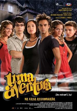 Uma Aventura na Casa Assombrada - Portuguese Movie Poster (thumbnail)