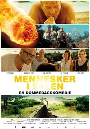 Mennesker i solen - Norwegian Movie Poster (thumbnail)