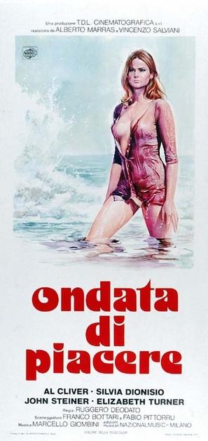 Una ondata di piacere - Italian Movie Poster (thumbnail)