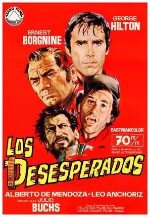 Los desesperados - Spanish Movie Poster (thumbnail)