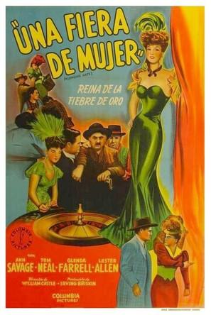 Klondike Kate - Argentinian Movie Poster (thumbnail)