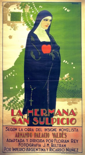 La hermana San Sulpicio - Spanish Movie Poster (thumbnail)
