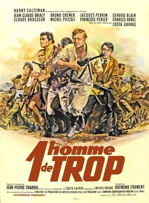 Un homme de trop - French Movie Poster (thumbnail)