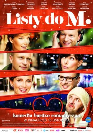 Listy do M. - Polish Movie Poster (thumbnail)