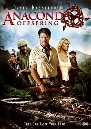 Anaconda III - DVD movie cover (thumbnail)