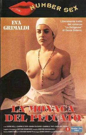 La monaca del peccato - Italian VHS cover (thumbnail)