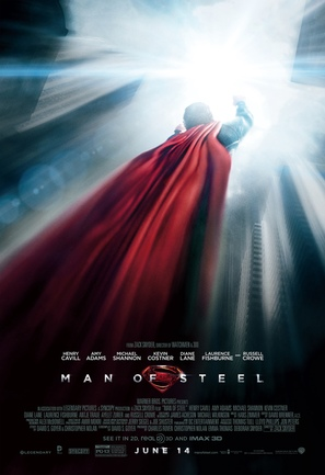 Man of Steel - Movie Poster (thumbnail)