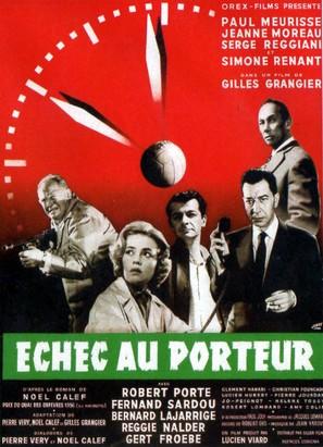 Échec au porteur - French Movie Poster (thumbnail)