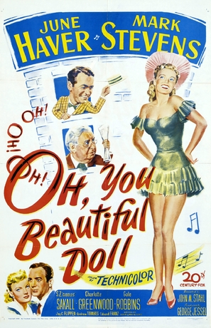 Oh, You Beautiful Doll - Movie Poster (thumbnail)