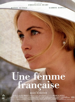 Une femme française - French Movie Poster (thumbnail)
