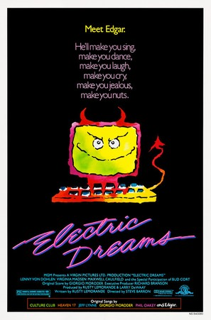 Electric Dreams - Movie Poster (thumbnail)