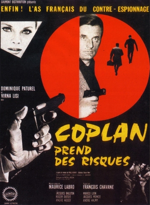 Coplan prend des risques - French Movie Poster (thumbnail)