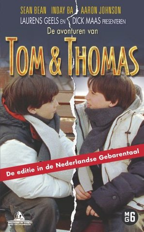 Tom & Thomas - Dutch VHS movie cover (thumbnail)