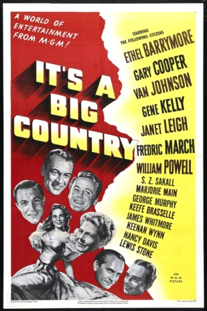 It's a Big Country - Movie Poster (thumbnail)
