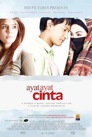 Ayat-ayat cinta - Indonesian Movie Poster (thumbnail)