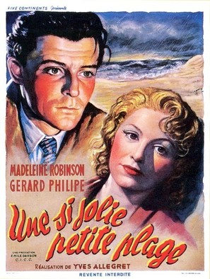 Une si jolie petite plage - French Movie Poster (thumbnail)