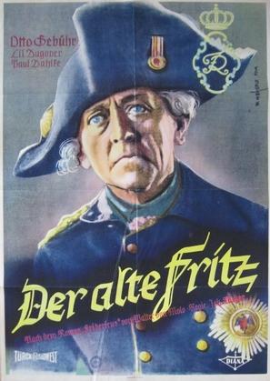 Fridericus - German Movie Poster (thumbnail)