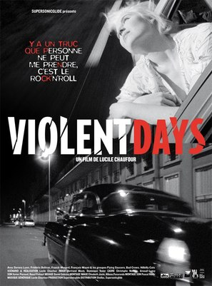 Violent Days - Dry - French Movie Poster (thumbnail)