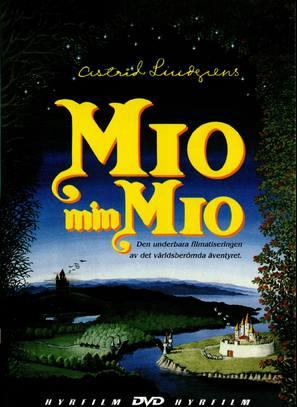 Mio min Mio - Swedish DVD cover (thumbnail)