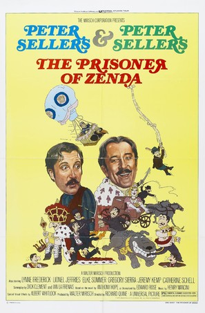 The Prisoner of Zenda - Movie Poster (thumbnail)