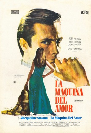 The Love Machine - Spanish Movie Poster (thumbnail)