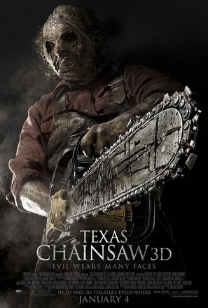 Texas Chainsaw Massacre 3D - Movie Poster (thumbnail)