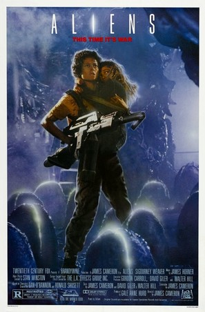Aliens - Movie Poster (thumbnail)
