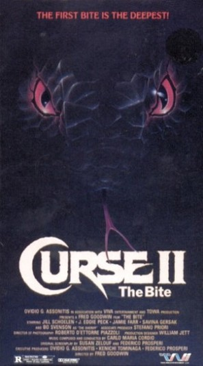 Curse II: The Bite - VHS cover (thumbnail)