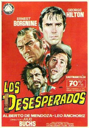 Los desesperados - Spanish Movie Poster (thumbnail)