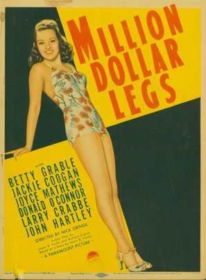 Million Dollar Legs - Movie Poster (thumbnail)