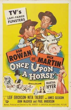 Once Upon a Horse... - Theatrical poster (thumbnail)