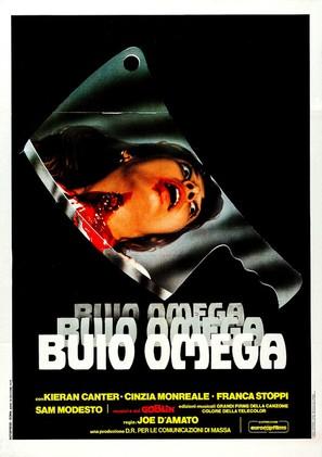 Buio Omega - Italian Movie Poster (thumbnail)