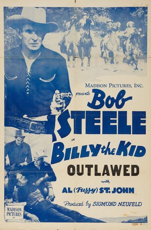 Billy the Kid Outlawed - Re-release movie poster (thumbnail)