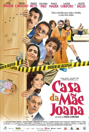 A Casa da Mãe Joana - Brazilian Movie Poster (thumbnail)