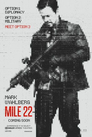Mile 22 - Movie Poster (thumbnail)