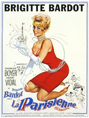 Une parisienne - French Movie Poster (thumbnail)