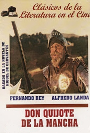 """El Quijote de Miguel de Cervantes"" - Spanish Movie Cover (thumbnail)"