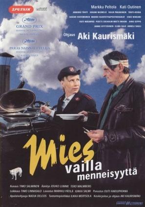 Mies vailla menneisyyttä - Finnish Movie Poster (thumbnail)
