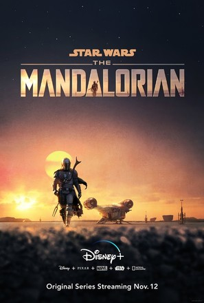 """The Mandalorian"" - Movie Poster (thumbnail)"