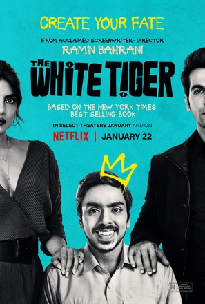 The White Tiger - Movie Poster (thumbnail)
