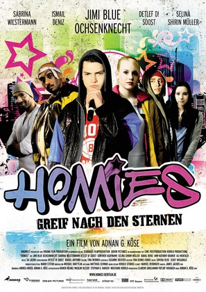 Homies - German Movie Poster (thumbnail)