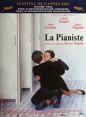 La pianiste - French Movie Poster (thumbnail)