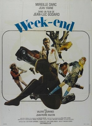 Week End - French Movie Poster (thumbnail)