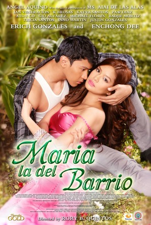 """Maria la del Barrio"" - Philippine Movie Poster (thumbnail)"