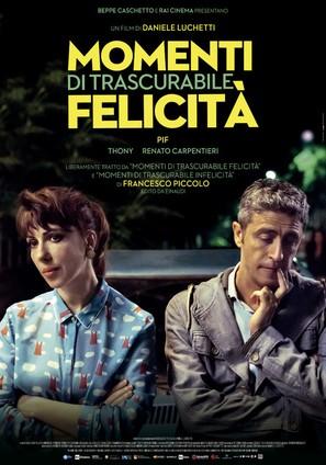 Momenti di trascurabile felicità - Italian Movie Poster (thumbnail)