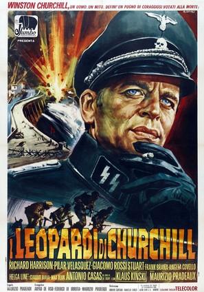 I Leopardi di Churchill - Italian Movie Poster (thumbnail)