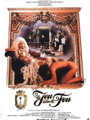 Le jeu avec le feu - French Movie Poster (thumbnail)